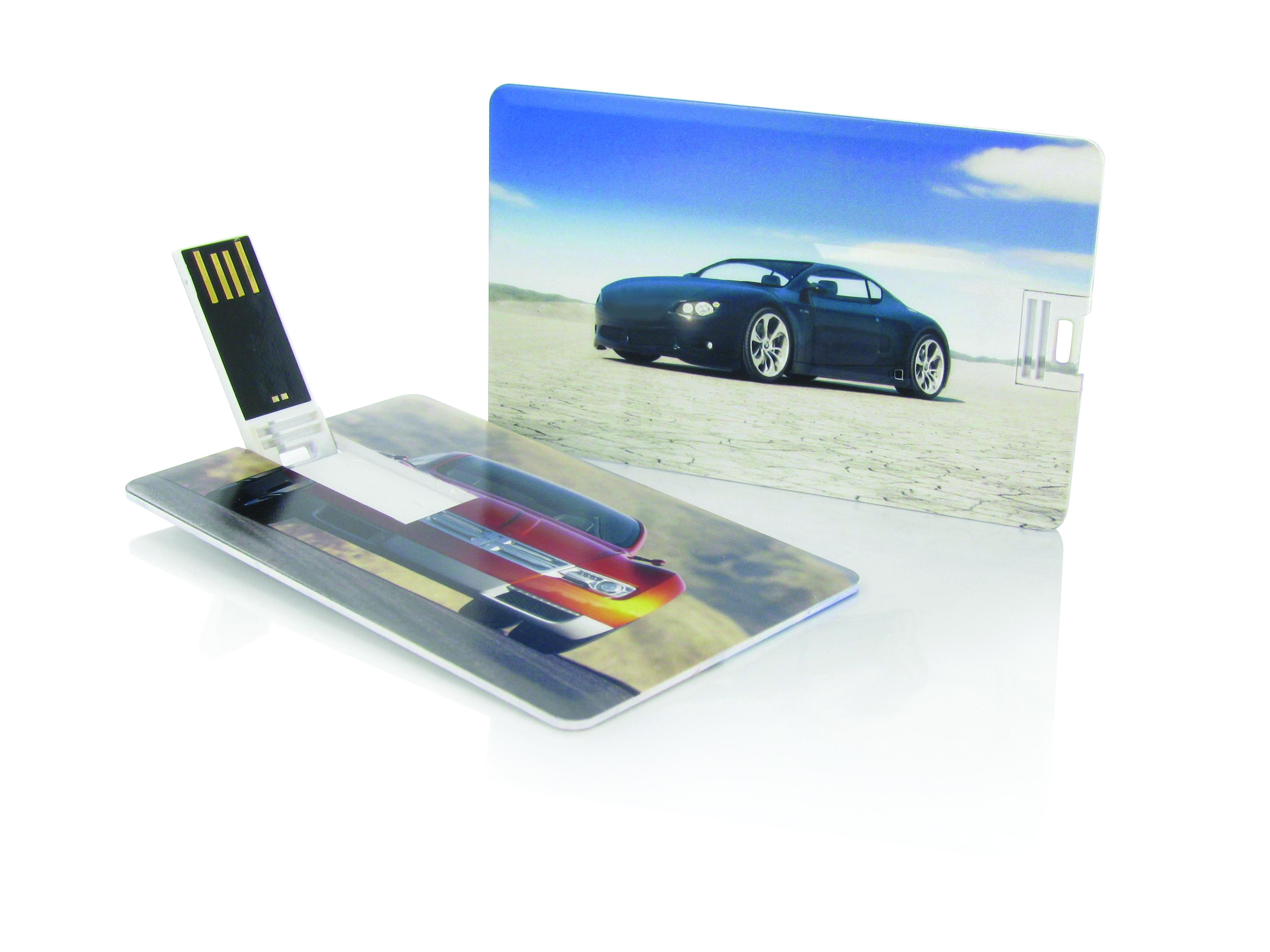 usb karte USB Karte 2 GB mit Druck als Werbemittel   Kundenpräsent