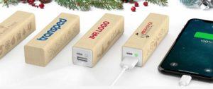 Powerbank Kundengeschenke Weihnachten