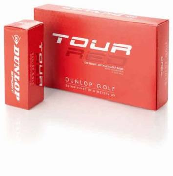 Tour Red Golfball