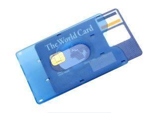 Kreditkartenhalter Kredit in 3 Farben