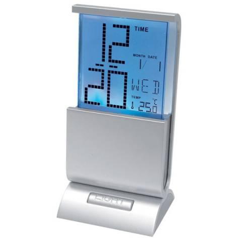 Uhr mit farbwechselndem Display