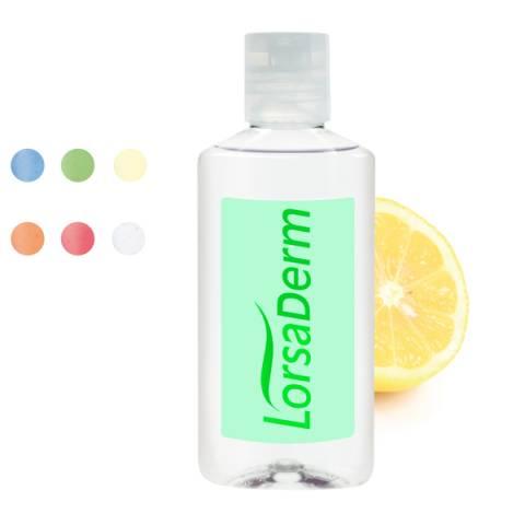 50 ml Flasche - Handreinigungsgel antibakteriell - Body Label au