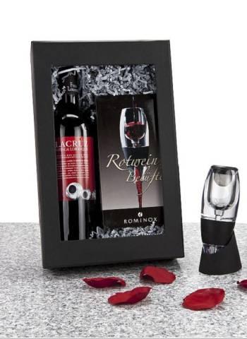 Rotweinbelüfter fürs Glas