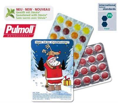 Kleinster Adventskalender mit Pulmoll