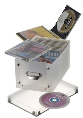 Faltbare Box für CDs