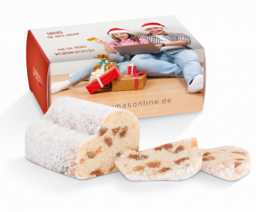 Mini Christstollen 80g in der Stollenbox
