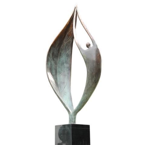 Kunst Skulptur `START`