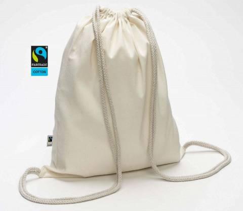 Fairtrade Rucksack Bio 32x40 160g/m2
