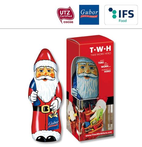 Schoko Weihnachtsmann Gubor 26 gr