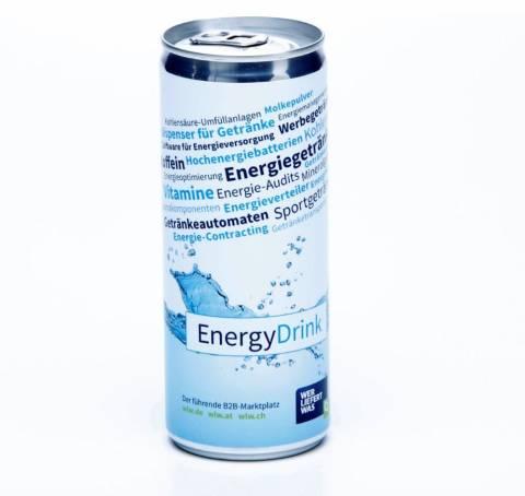 Energy Drink Werbeartikel 250 ml