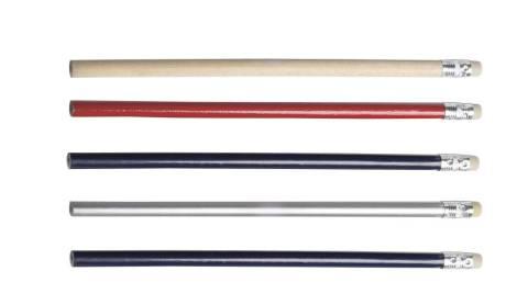Viva Bleistift mit Radiergummi  in 6 Farben