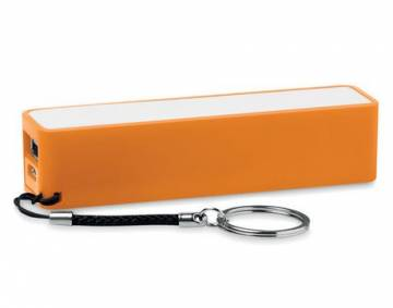 Slim PowerBank 2200mAh orange Powermate