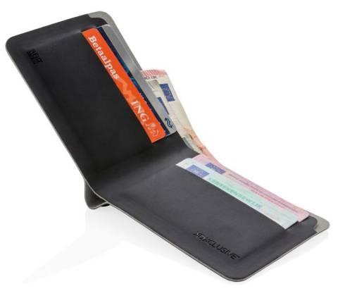 Quebec RFID Geldbörse schwarz