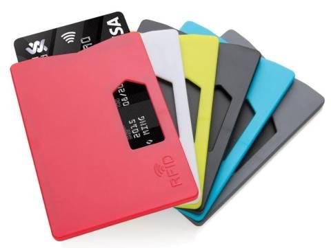 RFID Anti Skimming Kartenhalter in 5 Farben