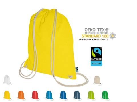 Turnbeutel Fairtrade 38 x 46 in 13 Farben