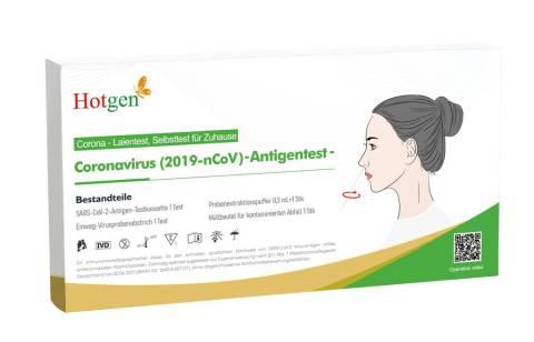 Hotgen Antigen Schnelltest Covid-19 Laientest Nasaltest
