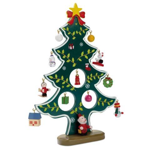 Weihnachtsbaum aus Holz grün WOODTREE