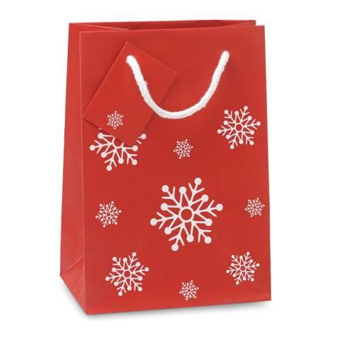 Geschenkpapiertüte Klein rot BOSSA SMALL