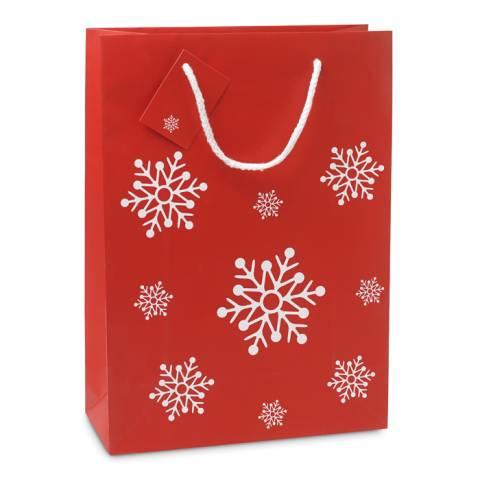 Geschenkpapiertüte Groß rot BOSSA LARGE