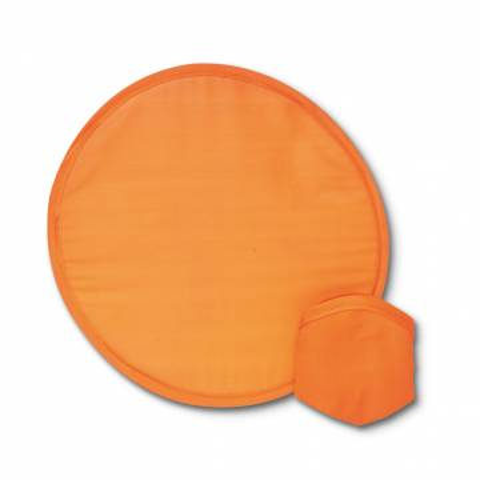 Faltbare Wurfscheibe orange Atrapa