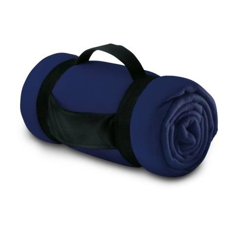 Fleece-Decke blau Stavenger