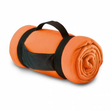 Fleece-Decke orange Stavenger