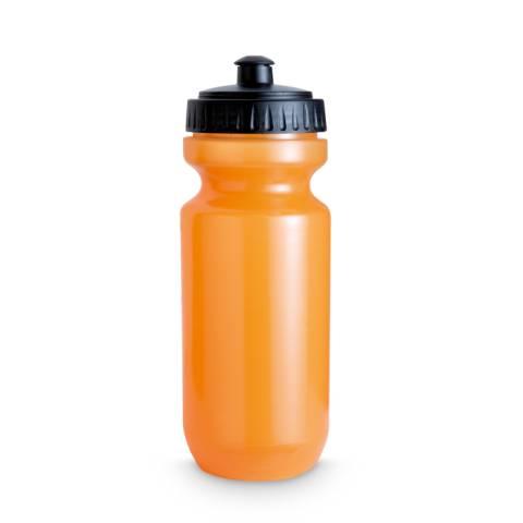 Trinkflasche transparent orange Spot Two