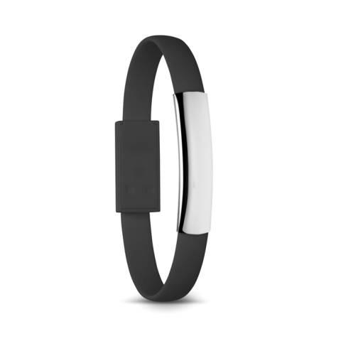 Armband Typ C schwarz Cabletc