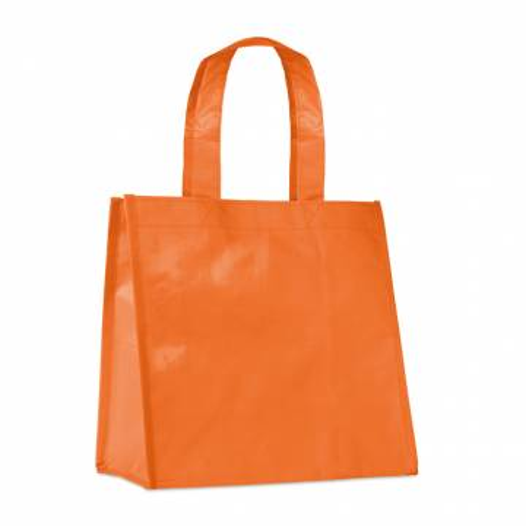 Kleine PP Woven Tasche orange Boca
