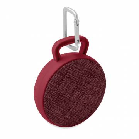 Bluetooth Lautsprecher rund burgund Roll