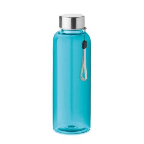 Trinkflasche Tritan transparent blau UTAH
