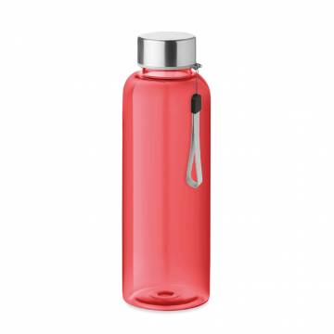 Trinkflasche Tritan transparent rot UTAH