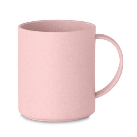 Kaffeebecher Bambus/PP rosa ASTORIAMUG