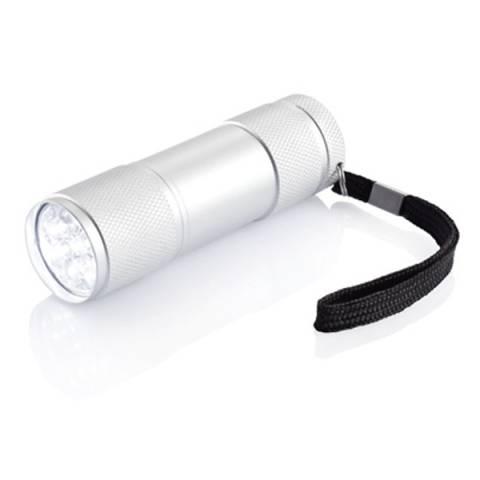 Taschenlampe Quattro in Zinndose