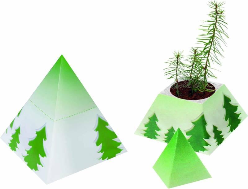 weihnachtspyramide gr ne werbemittel weihnachten mit druck. Black Bedroom Furniture Sets. Home Design Ideas