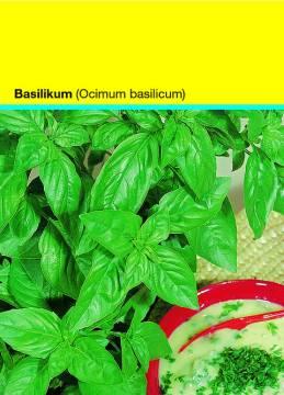 Samentütchen 82x114 mm  Basilikum