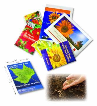 Samentütchen Samen frei wähbar