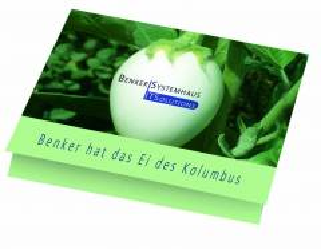 Klappkärtchen Eierbaum, 90 x 60 mm Eierbaumsamen, 1-4 c Digitald