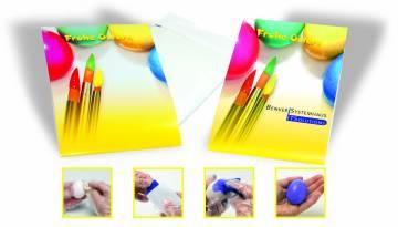 Eierfärberei-Set,  inklusive 1-4 c Digitaldruck