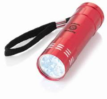 Taschenlampe 9 Led