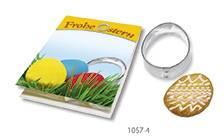 Backe Dein Oster-Ei, 1-4 c Digitaldruck Kärtchen inklusive