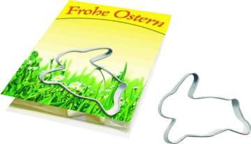 Backe Deinen Osterhasen, Kärtchen  1-4 c Digitaldruck inklusive