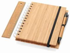 Java Bambus Notebook-Set