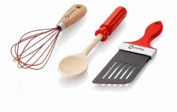 3-tlg. Küchen-Set Tools