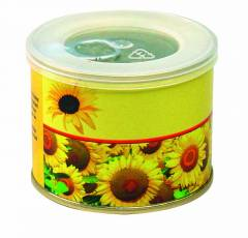 Sonnen-Dose 73Ø  x 58 mm, Zwergsonnenblume, 1-4 c Digitaldruck i
