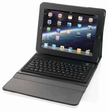 iPad Hülle mit Tastatur
