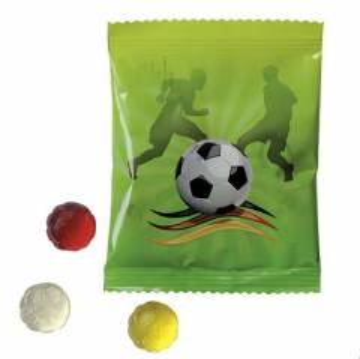 Fruchtgummi Fußball