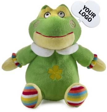 Plüschtier Frosch Kunibert
