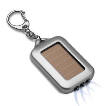 LED Solarschlüsselanhänger