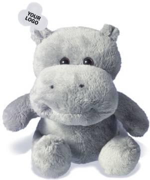 Plüschtier Werbeartikel Hippo
